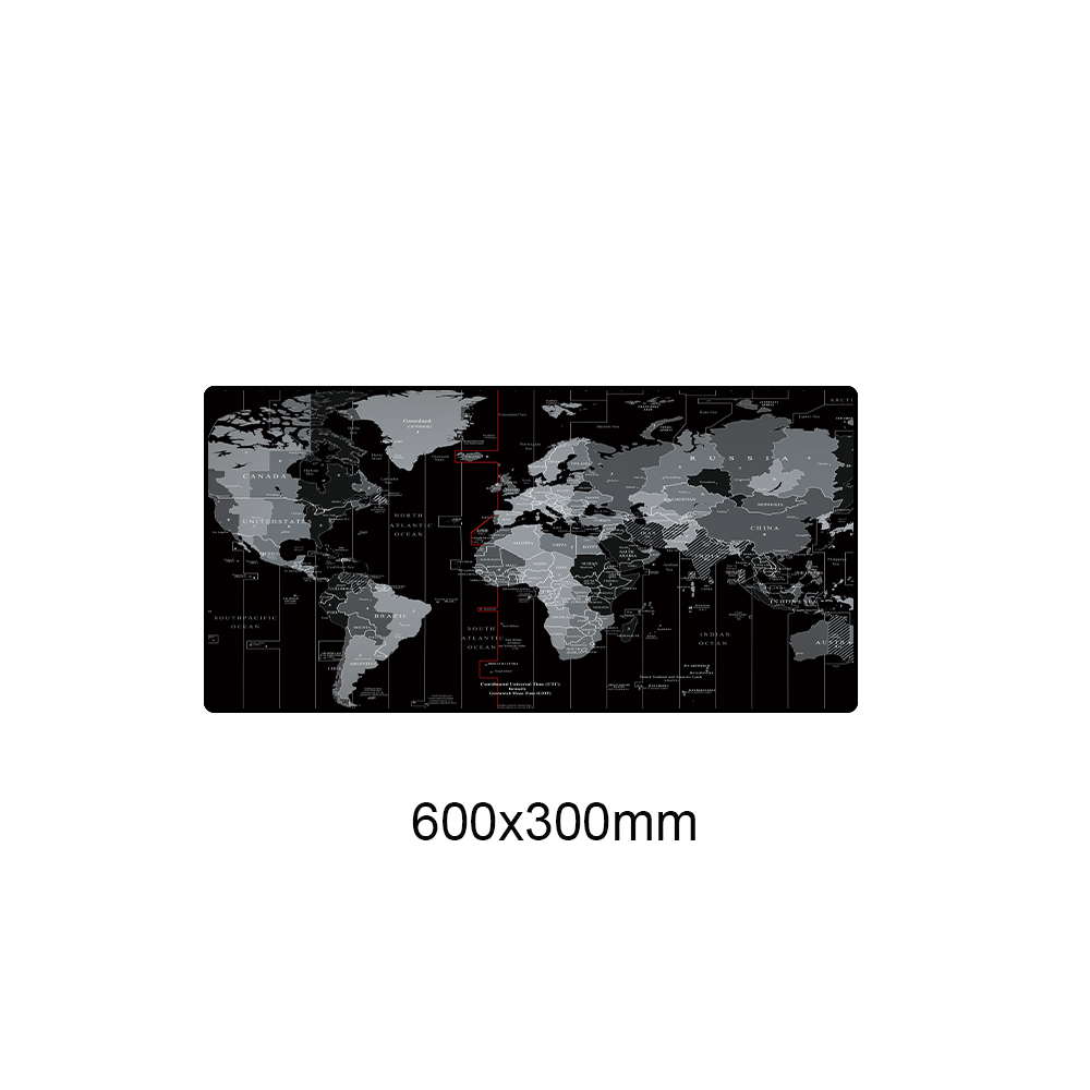 Old World Map 900x400mm XXL Large Mouse Pad Gaming Mousepad Computer Anti slip Natural Rubber Desk Mouse Mat with Locking Edge in Mouse Pads from Computer Office