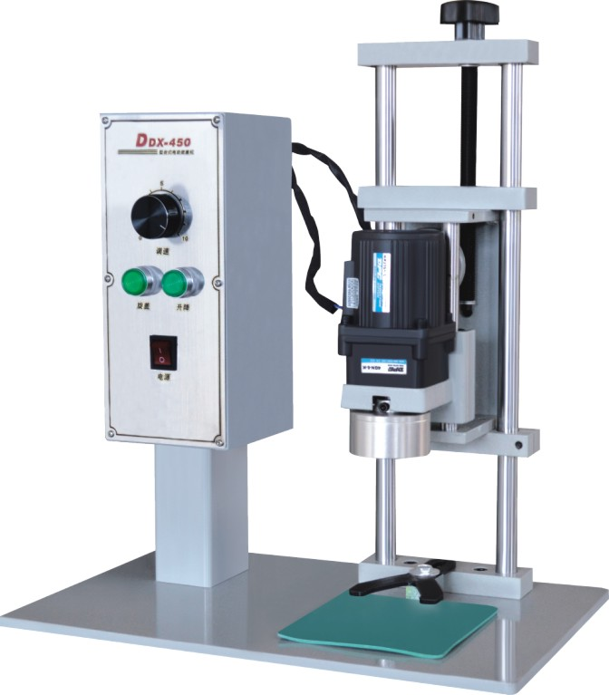 Electric capping machine for screw cap, plastic bottle cap lock machine, bottle capper