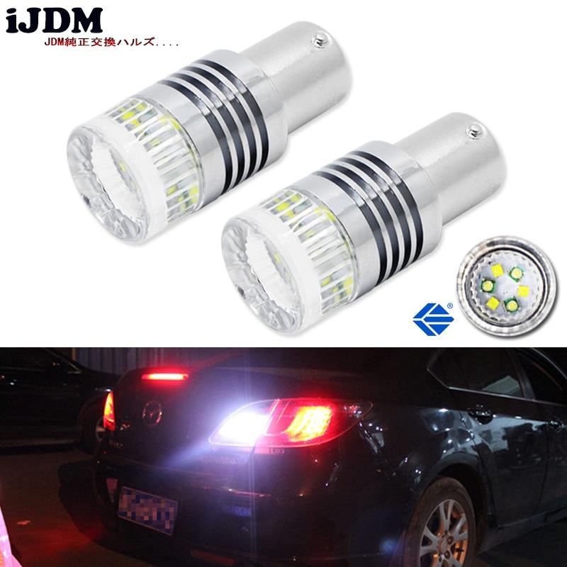 IJDM P21W 1200 Lumen Super Helle Chipsätze 1156 7506 BA15s P21W S25 Led  Lampen Für Bremse, DRL, Blinker, Unterstützungslichter Lampen