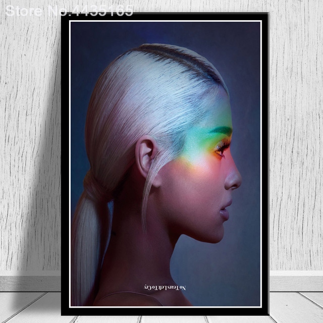 Ariana Grande pop musice star art fabirc poster 20''x13/'/'inch 55