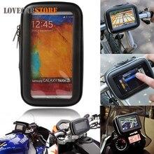 Motocicleta de La Bicicleta a prueba de agua Bolsa Bolsa de Transporte para 3.5/4.3/5 pulgadas de Navegación GPS Dispositivos de Protección Cubierta de La Bolsa de Transporte