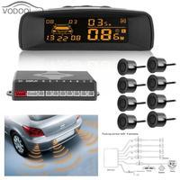 LCD Auto Car LCD Monitor Parking Sensor Kit Automobiles Parking Assistance Parktronic Detector Rear Reverse Backup Radar System
