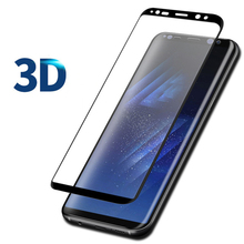 3D Tempered Glass For Samsung S9 S8 Plus 9H Ultra Thin Full Screen Protector Film For Samsung A8 2018 a8 plus Note 8 Glass Film tempered glass film for samsung gear s3 smart watch 9h anti scratch ultra thin screen protector film