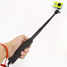 For Xiao yi Waterproof Monopod Tripod Extendable Handheld Aluminum Pole for GoPro Hero 4 3 SJ4000 sports camera Accessories