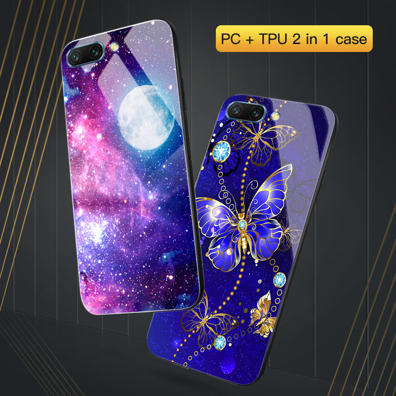 For <font><b>Honor</b></font> 10i <font><b>Case</b></font> For Huawei <font><b>Honor</b></font> 10 <font><b>9</b></font> <font><b>Lite</b></font> Cover <font><b>Hard</b></font> PC TPU Black Cover For Huawei <font><b>Honor</b></font> 7A PRO <font><b>Honor</b></font> 8X 8A 7C 8C 20 <font><b>Case</b></font> image