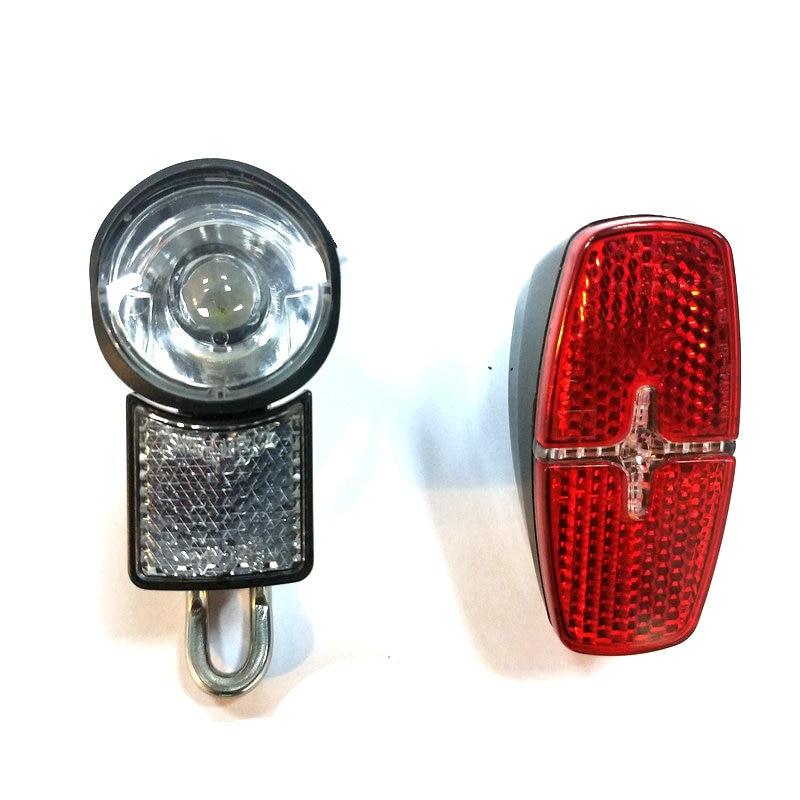 E bike light lamp 6v for Tongsheng TSDZ2 motor and BAFANG mid drive BBS01 BBS02 BBSHD