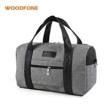 WOODFONE Bolsa de viaje de moda ligera para hombres Bolsa de fin de semana de mujer Bolsa de viaje de gran capacidad Viaje Llevar bolsas de equipaje durante la noche