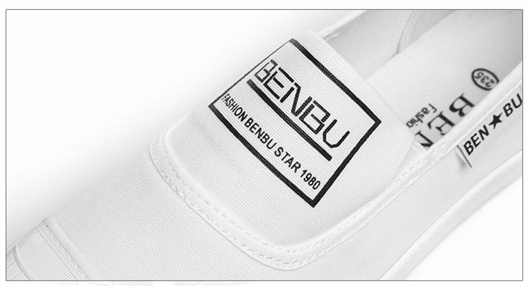 KUYUPP Brand New Woman White Shoes 2016 Summer Casual Flat Slip On Canvas Shoes Round Toe Women\'s Flats Big Size 35-40 PX107 (11)
