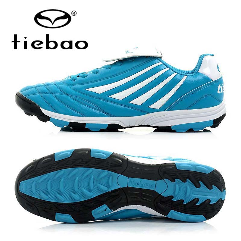 TIEBAO Professional OutdoorTraining Shoes Sneakers TF Turf Soles Athletic Training Sneakers Men Women Football Boots