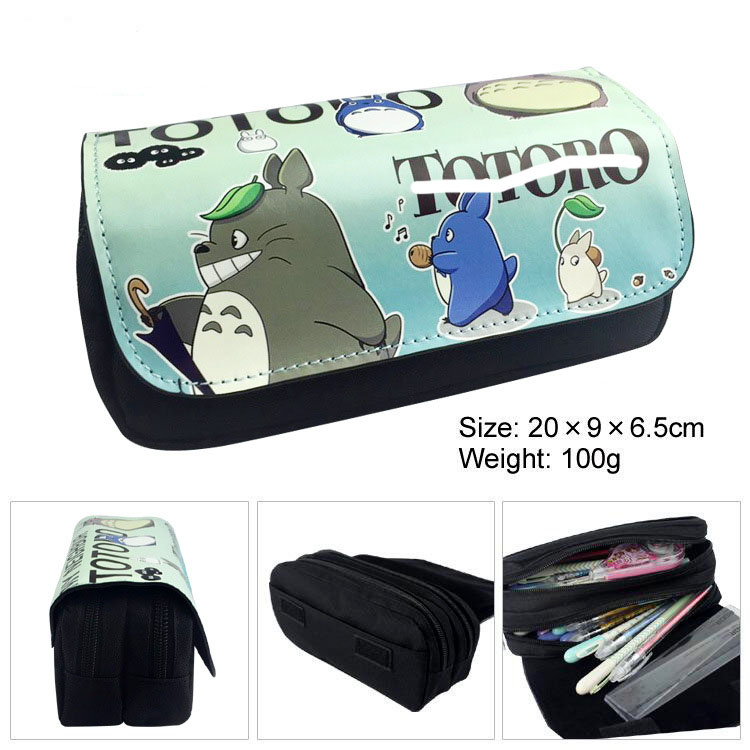 1 Pcs Kawaii Big Pencil Case Cartoon Cat Canvas Gift Estuches School Pencil Box Pencilcase Pencil Bag School Supplies Stationery