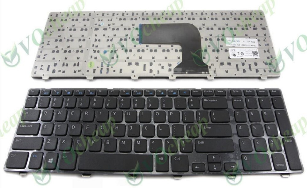 Original New for Dell Inspiron 17 3737 17R 5737 M731R keyboard US black