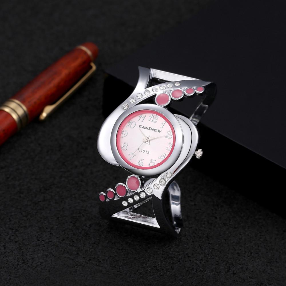 New design women bangle wristwatch quartz crystal luxury relojes rhinestone fashion female watches hot sale eleagnt mujer watch 18
