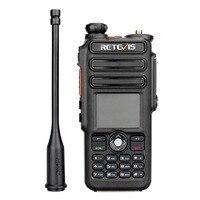 מכשיר הקשר Retevis RT82 GPS Dual Band DMR רדיו מכשיר הקשר דיגיטלי DCDM TDMA IP67 Waterproof שני הדרך רדיו Comunicador (2)