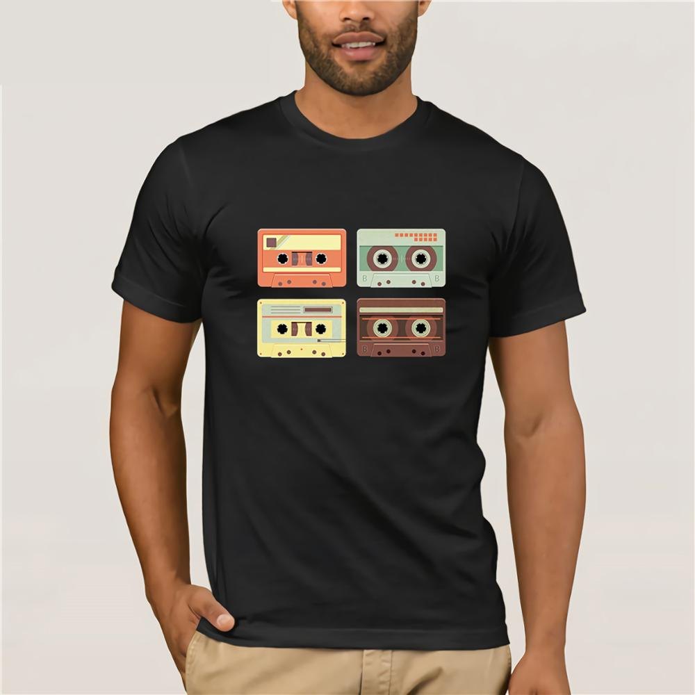 GILDAN Cassette Tapes Music Mixtape Vintage Retro 80s Tech T-Shirt