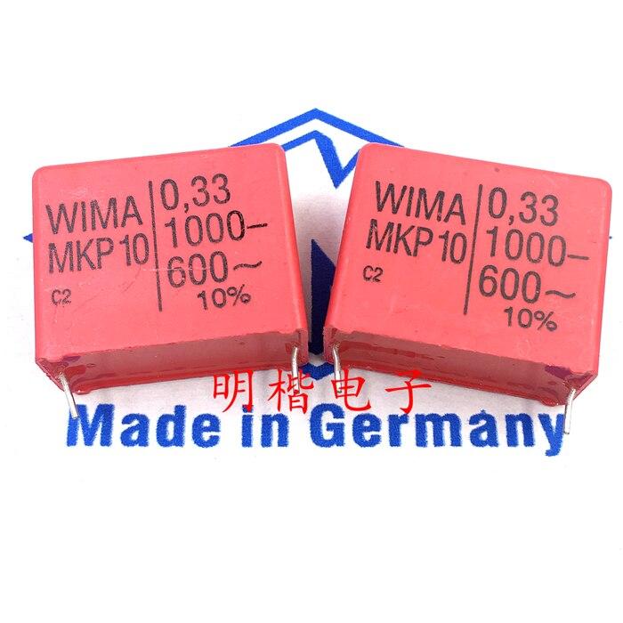33uF 10/% 400Vdc 250Vac MKP-10 película condensadores WIMA #9F15 5 x 0