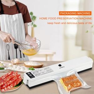 Image 2 - ATWFS Vacuum Food Sealer 220V/110V Packaging Sealing Machine Kitchen Vaccum Sealer Packer with 15pcs Vacuum Bags for Food Saver