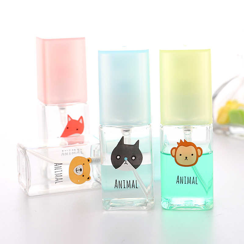 GOONBQ 1 pc Travel Color Transparent Fog Spray Bottle Superfine Perfume Lotion Spray Bottle Sub-bottle Hydrating  Watering Can