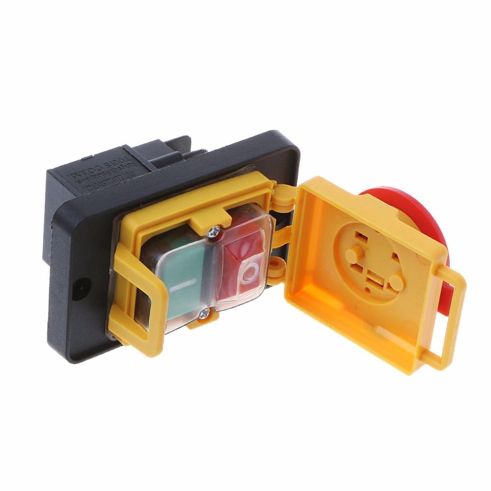 Brilliant Kjd12 250V 16A 4Pin Waterproof Magnetic Start Stop No Volt Release Wiring Database Gramgelartorg