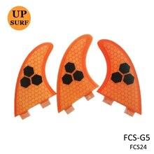 Aletas para Surf, aleta de fibra de vidrio, FCS G3/G5/G7