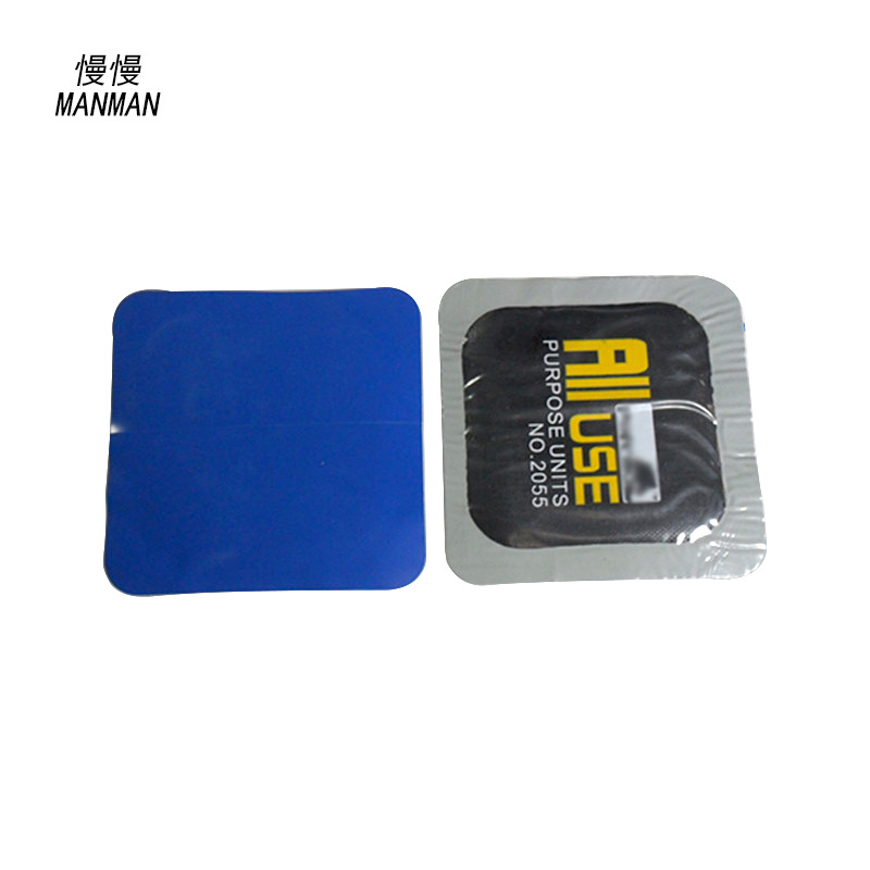 80 Pieces / Box patches tire 55mmSquare automobile motorcycle tubeless tyre puncture repair patch The puncture repair parches pa