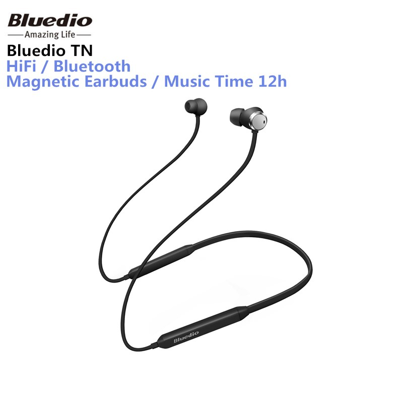 Bluedio TN bluetooth earphone with Active Noise Cancelling function wireless headset Sports Bluetooth Earphones for phones phones
