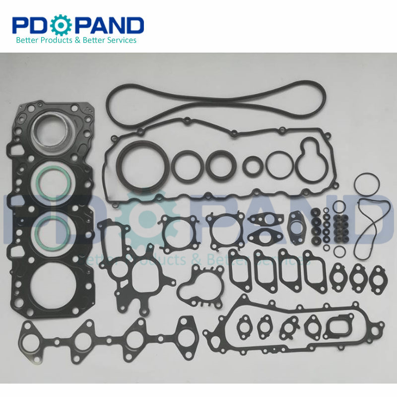 1kz 1kz Te 1kzte 1kzt 1kz T Engine Complete Gasket Set For Toyota Land Cruiser Hilux 4 Runner