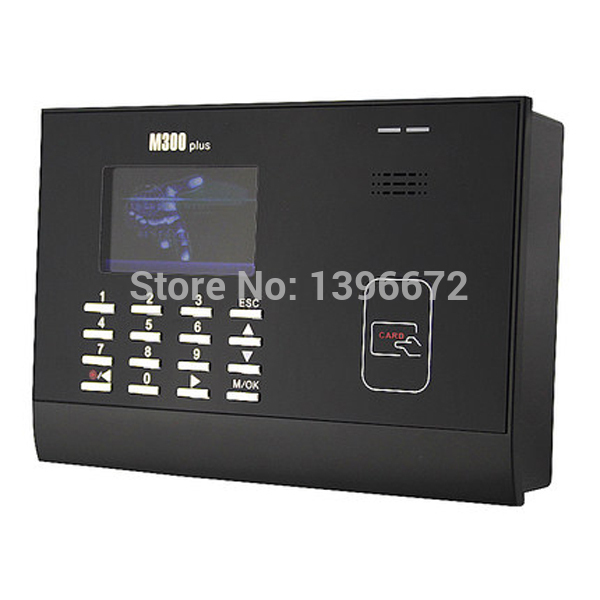 все цены на Free Shipping By EMS ZKteco M300plus TCP/IP Card Time Attendance Punch Card Time clock With Free Software