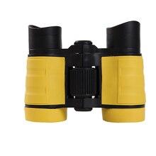 Детский бинокль комплект телескопа для наблюдения образовательного обучения(желтый