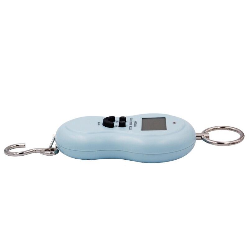 50 кг 50000 г 10 г Карманные Цифровые рыболовные Весы с подвесным крючком кухонные весы для взвешивания багажа с подсветкой скидка 20