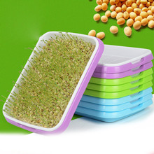 Hydroponics Seed Germination Tray Seedling Sprout Plate Grow Nursery Pots Vegetable Pot Plastic