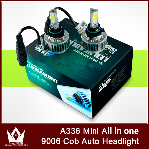 ФОТО Night Lord A336 9006 CAR COB LED Headlight COB fog lights 3300LM 36W 6000K HB4 9006 LED Headlight for car fog lamp