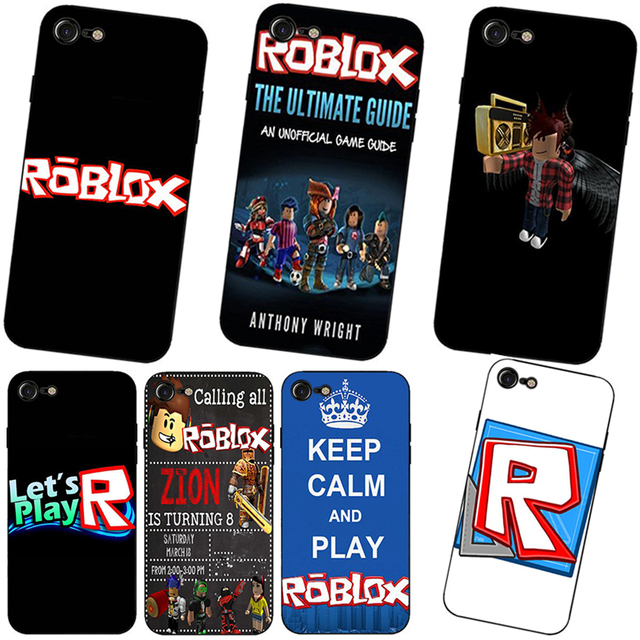 Roblox game Hard and transparent phone case for iphone 6 6s 7 8 plus X10 5  5C 4 4S cover cases