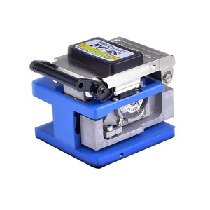 Image 3 - FTTH Fiber Optic Tool Kit 12pcs/set FC 6S Fiber Cleaver  70~+3dBm Optical Power Meter 5km Laser pen