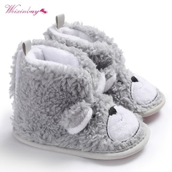 4142b79c Invierno cálido bebé botas zapatos de punto recién nacido botas botín cuna bebé  niñas niño botitas bendición zapatos, zapatos de bautismo de niño, ...