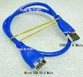 Micro B Micro USB V3.0 кабель для зарядки данных 50 см Micro USB V3.0 кабель Линия USB3.0 Micro USB Мобильный жесткий диск USB3.0 кабель
