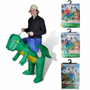 Adult Kids Men Dinosaur Costume Birthday Party Dress Inflatable Dino Costumes Halloween Cosplay for Women Full age size - DISCOUNT ITEM  20% OFF All Category