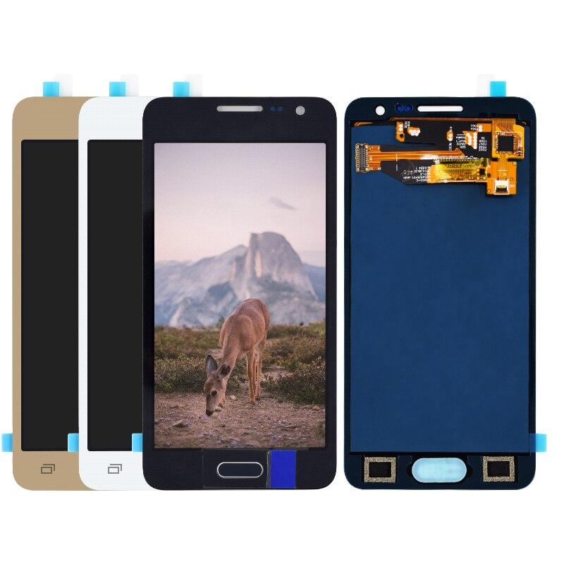 Verrückte Kuh Für Samsung Galaxy A3 2015 A300 A3000 A300F A300M LCD Display + Touch Screen Digitizer Montage nicht einstellen helligkeit