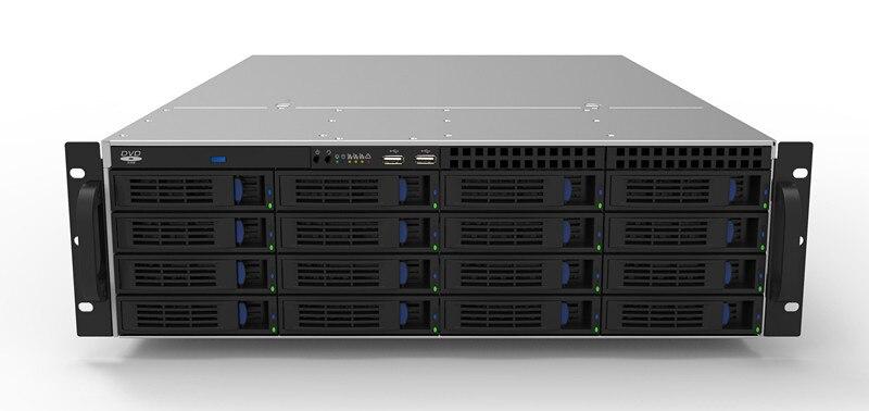3U 16 Диск Горячая замена серверный шкаф для хранения HD мониторинг хранения 3U сервер промышленный шкаф управления