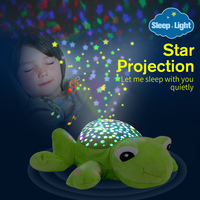 DODOELEPHANT Led Night Light Sky Star Novelty Lamp Plush Toys With Music Moon And Stars Projector