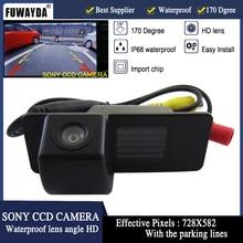Fuwayda SONY CCD вид сзади автомобиля DVD GPS навигации Наборы Камера для Chevrolet Aveo Trailblazer Opel Mokka cadillas srx cts HD