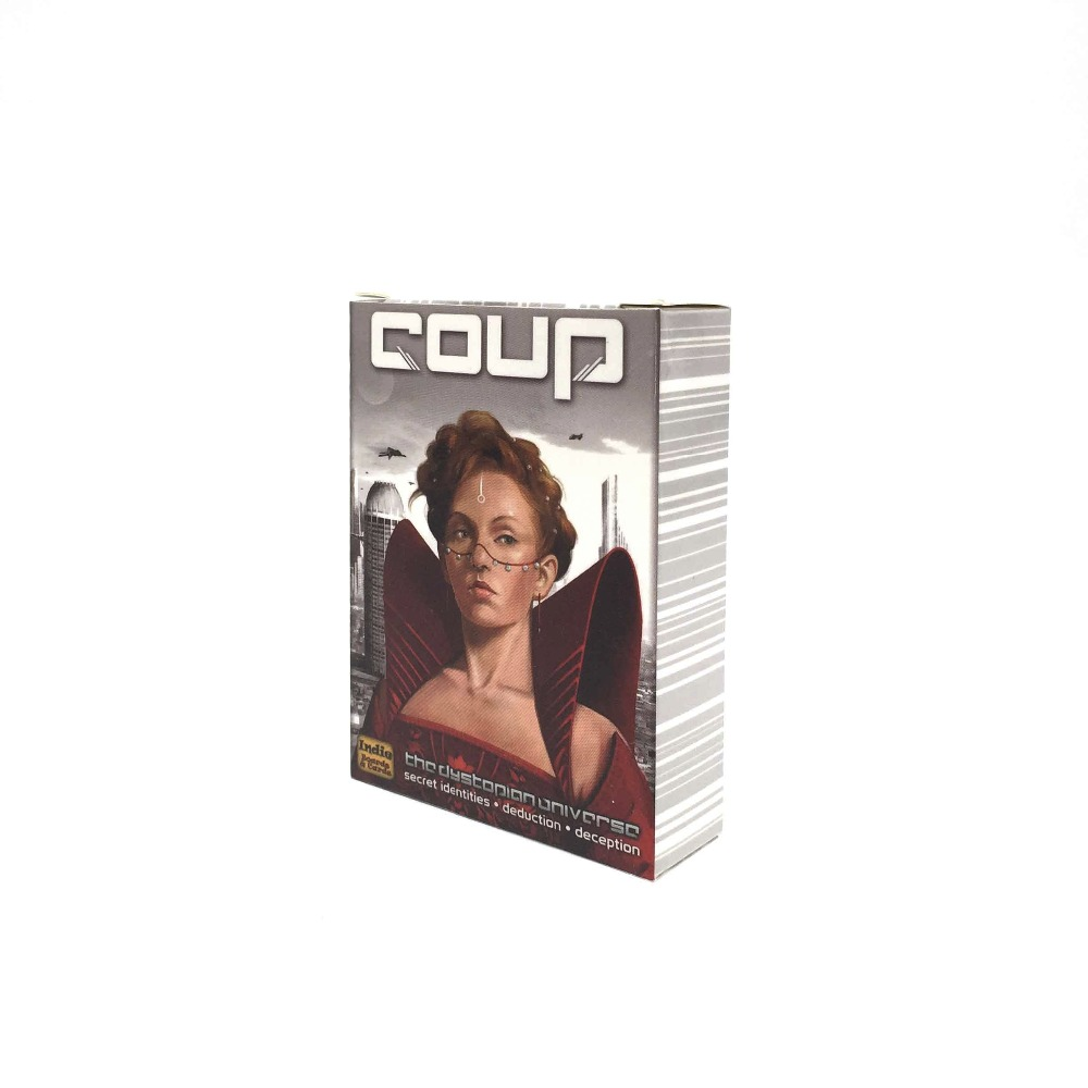 high quality coup basic game Full English Version suitable for party family 2-6 players cards toys board game