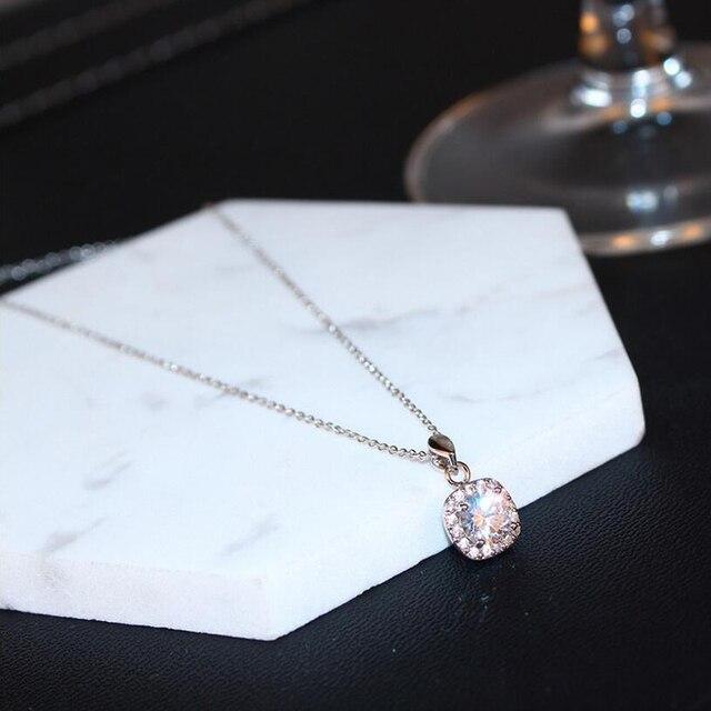 Простой стиль Кристалл Модное ожерелье для женщин Ретро Винтаж