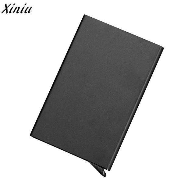 Men women card case solid color leather high quality bank card men women card case solid color leather high quality bank card holder fashion business card box reheart Image collections