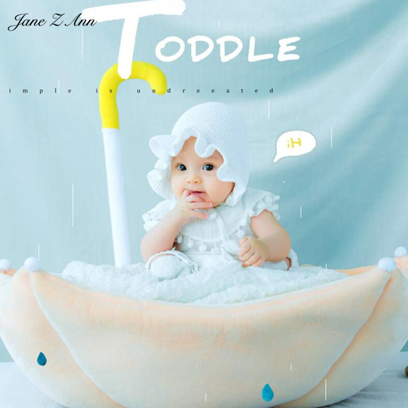Jane Z Ann Baby Photography Props Theme Background Costume Clothes baby with umbrella Accessories Studio Shooting Photo Props 3 5m vinyl custom photography backdrops prop nature theme studio background j 066