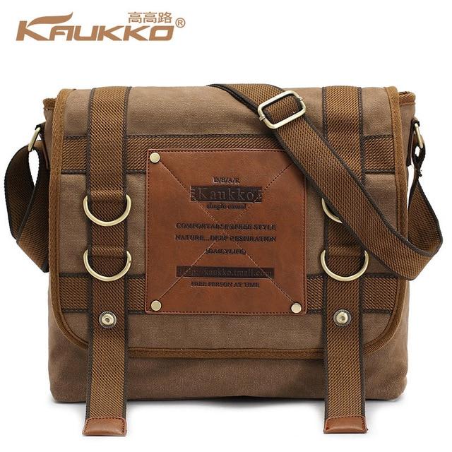424d9c1f82e7 Kaukko мужская сумка одного креста тела Shouder дорожная свободного покроя  мотоцикл школа ежедневно сумка Kaukko мешок