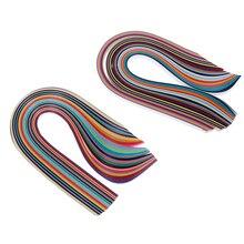 260 шт Ручная работа «сделай сам» Детская полоса для бумаги сделано смешанных цветов Скрапбукинг оригами