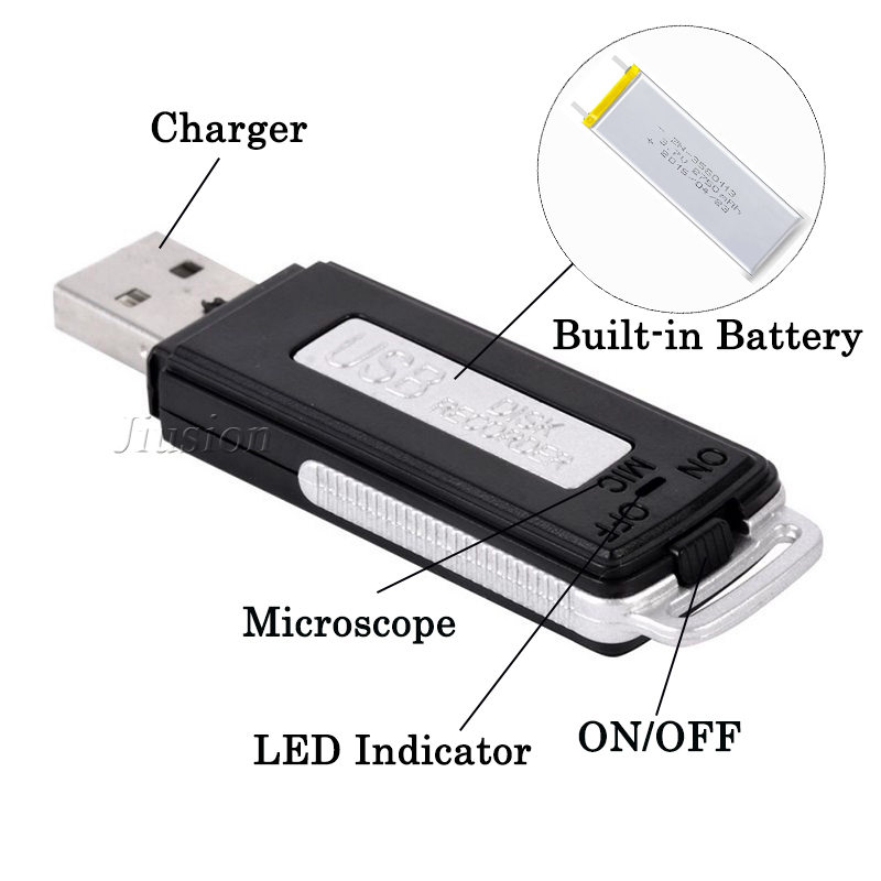 Mini USB Digital Voice Recorder : realspygadgets.com