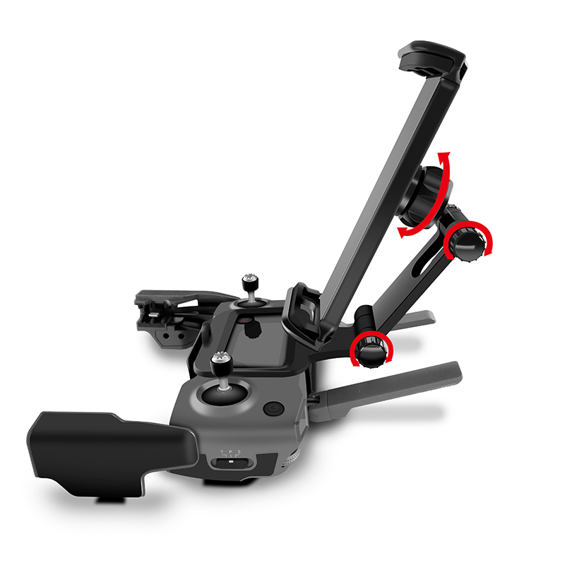 Image 5 - DJI Remote Control Holder Bracket Phone Tablet Front Bracket Holder for DJI Mavic 2 Pro DJI Mavic Air Spark Mount Clip for Pad-in Remote Control from Consumer Electronics