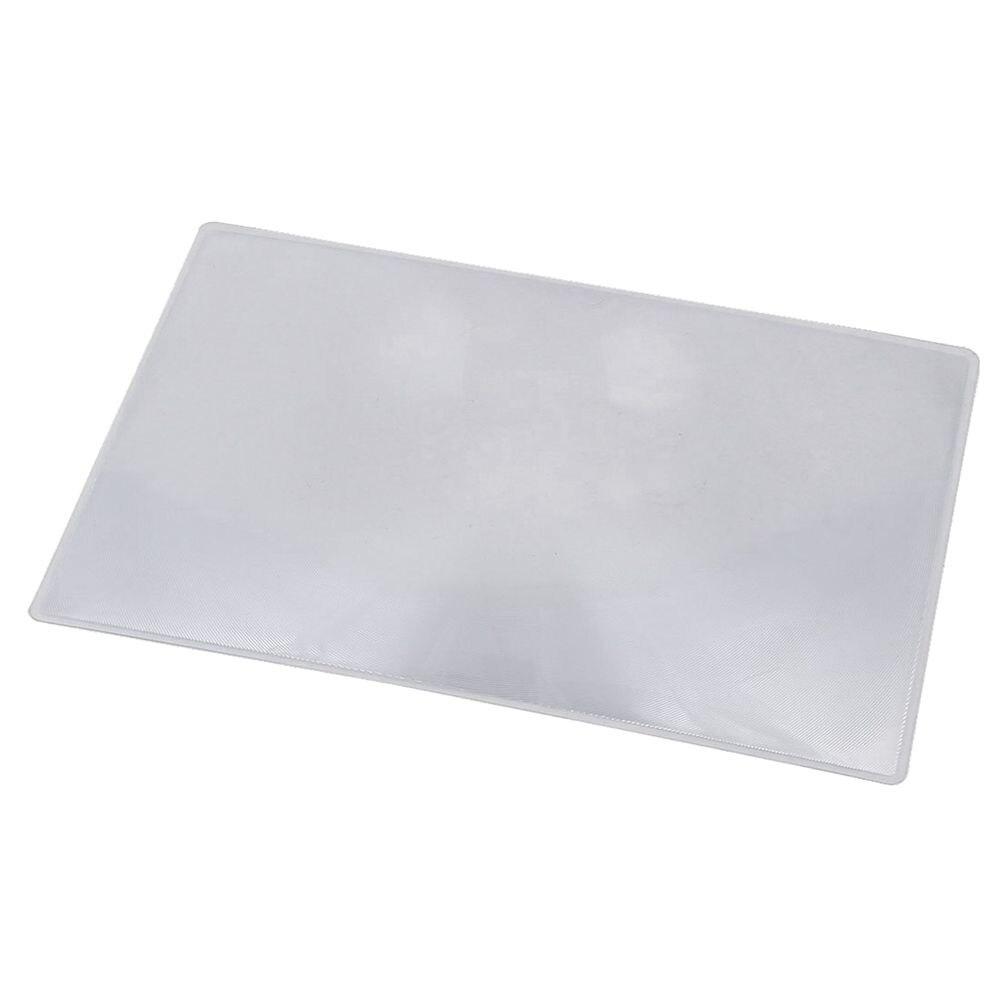 Erschwinglichen Lupe Fresnel-linse Seite 3x Vergrößerungs Blatt 180x120x0,5mm Kalender, Planer Und Karten