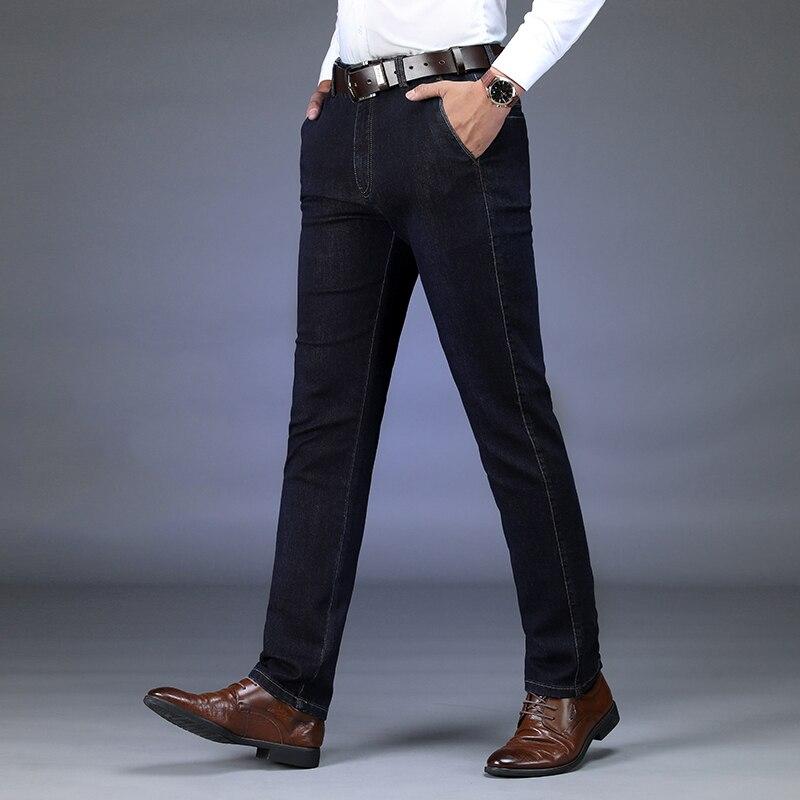 AFS JEEP hommes jeans marque smart décontracté droit lourd poids noir jeans hommes haute qualité hiver pantalon hommes grande taille 42-in Casual Pantalon from Vêtements homme on AliExpress - 11.11_Double 11_Singles' Day 1